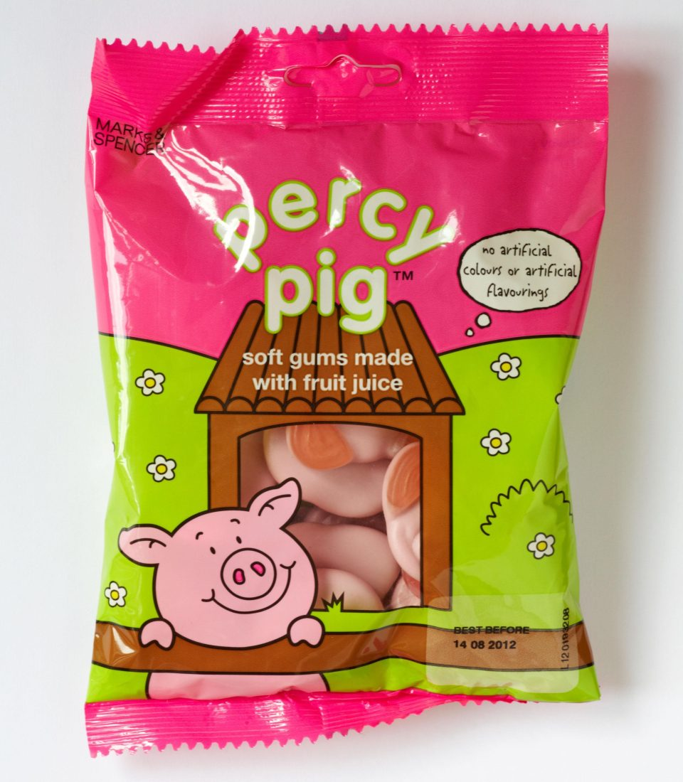 M&S percy's pigs may be banned under new sugar laws