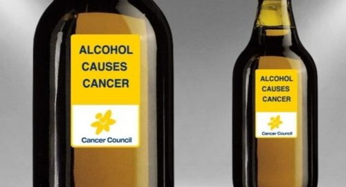 Should alcohol bottles carry a warning label about cancer?
