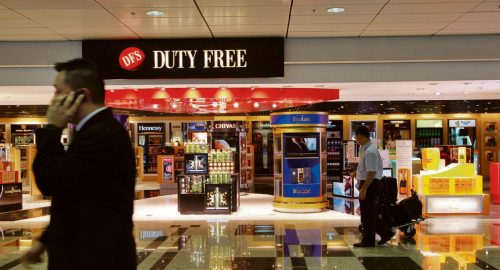 DFS will be closing its tobacco and liquor stores at Changi Airport